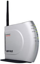 BUFFALO AirStation HighPower 11g&b 無線LAN BroadBandルータ WHR-HP-G